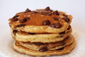 chocochip pancakes