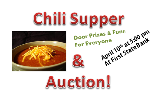 Chili Supper & Fundraising Auction!!