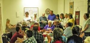 Outreach Center Choir debut - Friday Pot Luck