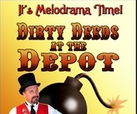"Meet the Cast of Your Melodrama ""Dirty Deeds at the Depot"""