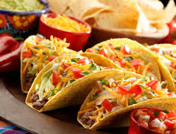 Saturday, October 3 – Lunch is a Taco Bar!