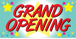 Monday, December 21 – Our GRAND OPENING!!!