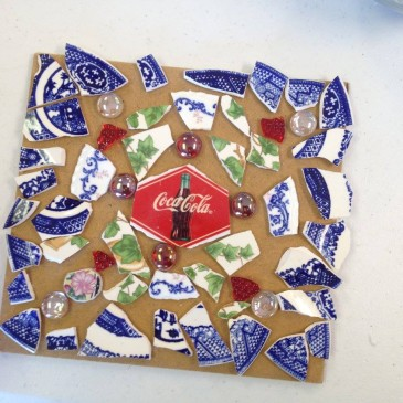 Tuesday, March 1 – Mosaic Trivet Craft Class – Finish Projects