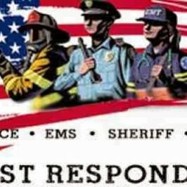 July 24 Sunday Brunch – THANK YOU to First Responders